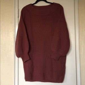 Express Sweater Tunic Dress